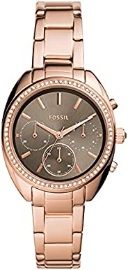 FOSSIL WOMENS VALE STAINLESS STEEL WATCH - BQ3659