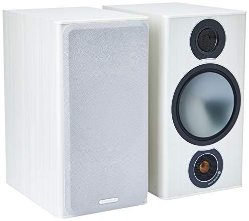 Monitor Audio Bronze 2 Regallautsprecher, Farbe: Weiß , 1 Paar -