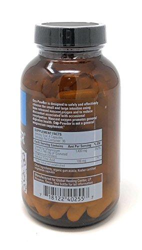 Global Healing Center Oxy-Pulver Darmreinigung (120 Kapseln) 120 Capsules