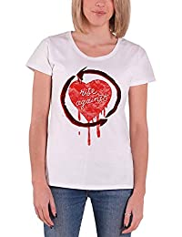 Rise Against 'Rough Heart' Womens Fitted T-Shirt