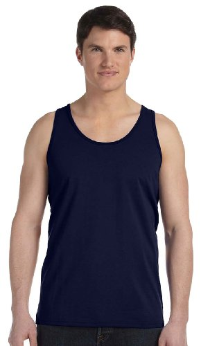 Canvas Unisex Jersey Tank 3480 Navy