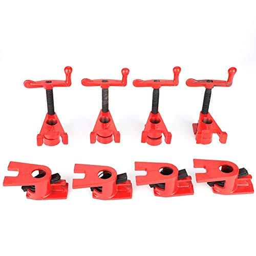 Wood Clamp - Schnellspanner Heavy Duty Wide Basis Eisen Holz Metall Clamp Set Holzbearbeitung Werkbank 4 Set 3/4 \'\'