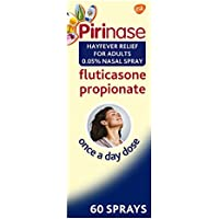 Pirinase Hayfever Relief for Adults 0.05% Nasal Spray 60 Sprays, Once a Day Dose
