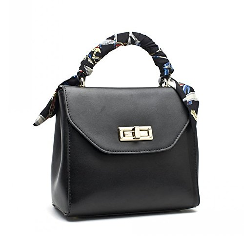 Jane Simple, Borsa a tracolla donna blu E-blue F-black