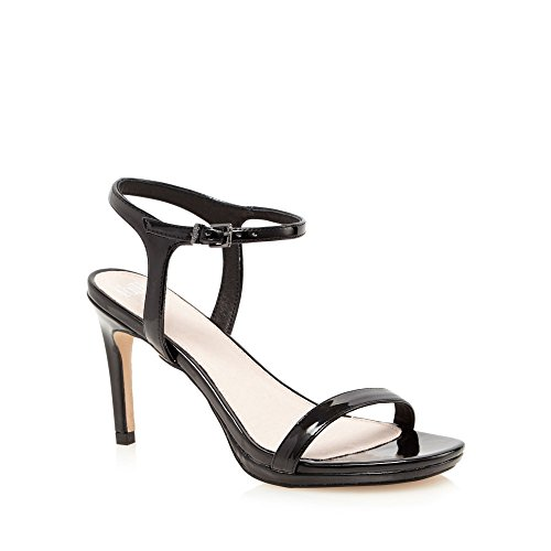 Debenhams Faith Black Patent 'Dolly' High Heel Wide for sale  Delivered anywhere in UK