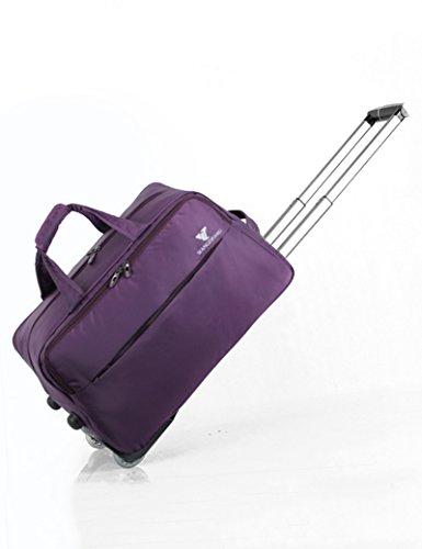 Hochleistungs-Nylon Tragbare Trolley Bag Gepäck Tasche Boarding Gepäck ( Farbe : 2 , größe : 48*30*29cm ) 4