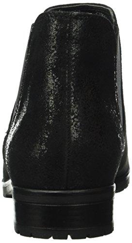 Caprice 25350, Stivaletti Donna Nero (BLACK SUEDE 4)