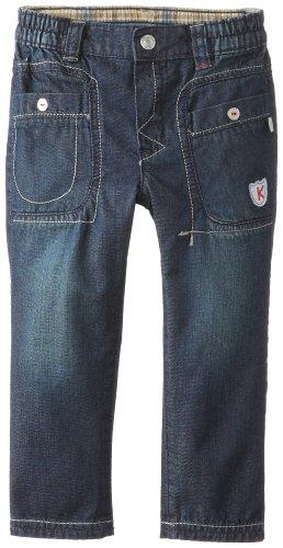 Kanz Baby - Jungen Jeans Hose 1432414, Einfarbig, Gr. 74, Blau (Blue Denim)