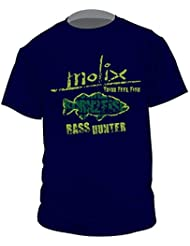 Molix T-Shirt Bass Hunter T.shirt m / m ropa pesca MTBHB-L
