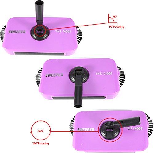 Aspirador-Escoba-Mquina-de-Barrido-Escoba-de-Barrido-Manual-360-Grados-de-Alta-Velocidad-sin-Electricidad-Herramienta-de-Limpieza-SilenciosaPurple