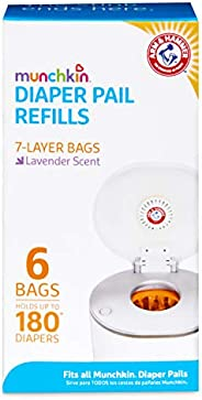 Munchkin Arm & Hammer Diaper Pail Snap with Seal and Toss Refill