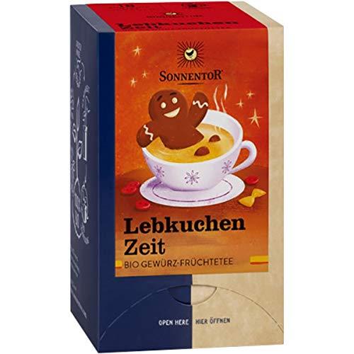 Sonnentor Lebkuchen-Zeit-Tee im Beutel (32,4 g) - Bio