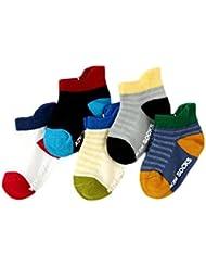 Fablcrew Chaussettes Bebe Mignon Moderne Chaussettes de Coton de la Mode bébé Spell Couleur Chaussettes Fille Hiver