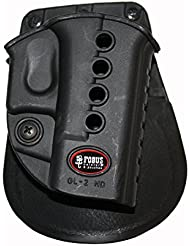 Fobus Standard Holster RH Paddle GL2E2 Glock 17, 19, 22, 23, 31, 32, 34, 35 , Walther PK 380 by Fobus