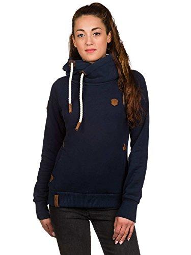 Naketano Damen Sweatshirt dunkelblau melange
