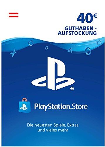 PSN Card-Aufstockung | 40 EUR | österreichisches Konto | PSN Download Code -