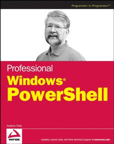 Professional Windows Powershell