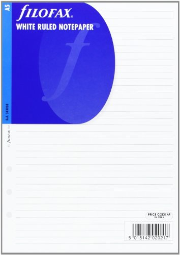 filofax-a5-white-ruled-notepaper-single-refill