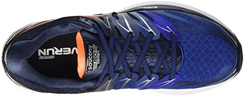 Saucony Herren Hurricane Iso 2 Trainingsschuhe Blau (Navy/Blue/Orange)