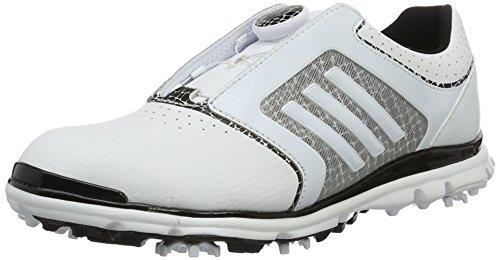 adidas Damen Adistar Tour B Golfschuhe, Weiß (White/Core Black/White), 39 1/3 EU