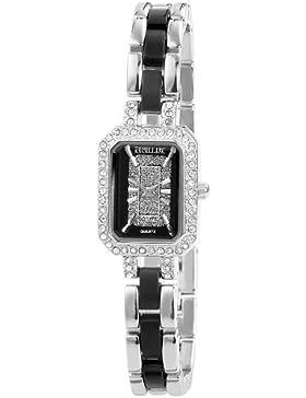 Excellanc Damen-Armbanduhr Analog Quarz verschiedene Materialien 185121000003