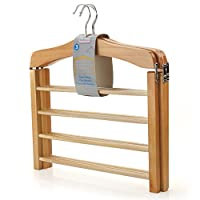 Hangerworld Premium 4-Tier Trouser Bar Hanger