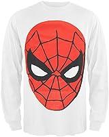 Spiderman Herren T-Shirt Weiß Weiß