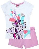 New Official Licensed My Little Pony Short Sleeve Pyjamas Set Sleepsuit For Kids Girls
