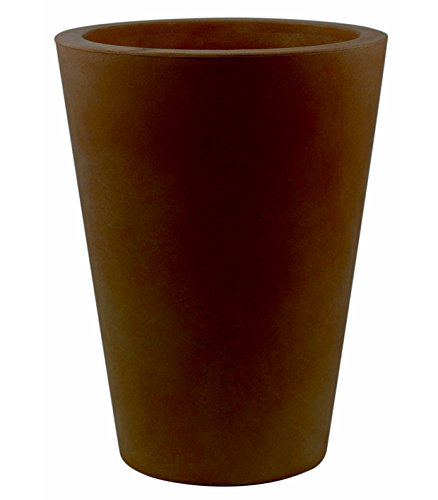 Vondom Trumptus A-Kegel mit hohem 18x 36cm Durchmesser, Basic, Farbe bronze