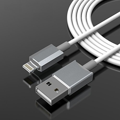 [Updated Version] GadgetsAccessories 1.5 meter (5 feet) Lightning Connector Data Charging Cable For iPhone 5 5c 5s 6 Plus iPad Air 2 Mini Retina Display iPod - USB to 8 Pin Lightning Sync Data - Charge Your Apple Device Quickly, iOS8 Compatible (original like) - NOT MFi Certified  available at amazon for Rs.229