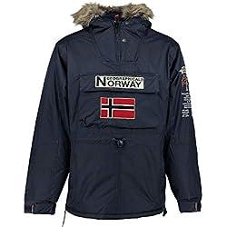 Geographical Norway Parka HOMRBE Boomerang A Azul Marino M