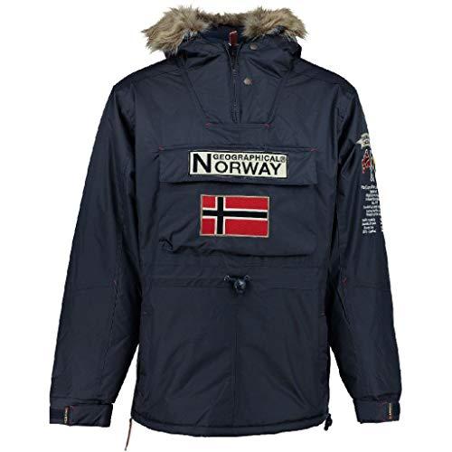 Geographical Norway Parka Hombre Boomerang Azul Marino L