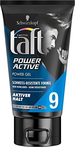 3 Wetter Taft Gel Power Active Halt 9, 5er Pack (5 x 150 ml)