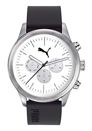 Puma Reloj Multiesfera para Hombre de Cuarzo con Correa en Plástico PU104281003