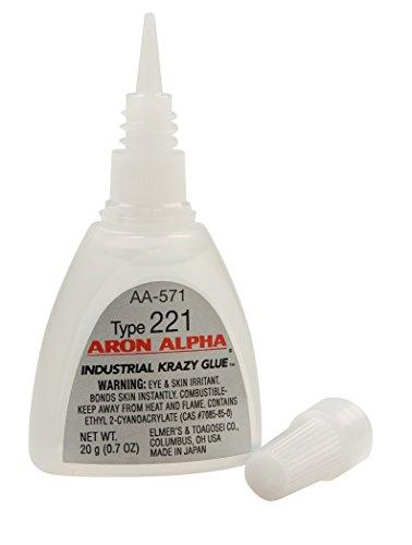 aron-alpha-type-221-2-cps-viscosity-fast-set-instant-adhesive-20-g-07-oz-bottle