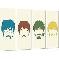 Wandbild Acryl Glasbild Druck auf Acryl Glas Bild Posterlounge Acrylglasbild 20 x 30 cm: The Beatles von Eric Fan