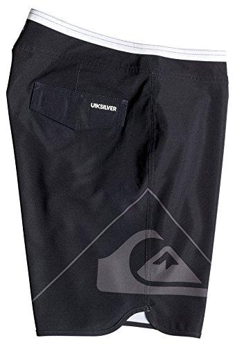 Quiksilver Newwave19 M Bdsh Kvj6 - Pantaloncini da bagno Uomo Nero