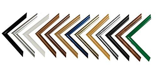 Easy Kunststoff-Bilderrahmen 60x84 cm 84x60 cm Farbwahl: hier Weiß mit Acrylglas