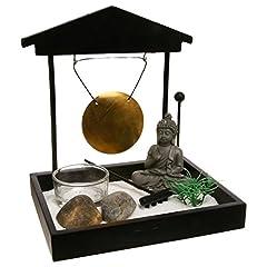 Idea Regalo - Giardino ZEN Buddha con gong.