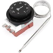 0-120 Grados Celsius INCORPORADO ENO Temperatura Controll Interruptor Termostato 250V 2