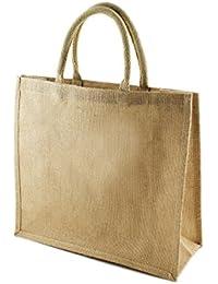 2f2b91cc0e Jivisha Creations Traditional style- Women s Girl s Jute bag carry bag travel  bag shopping bag lunch bag…