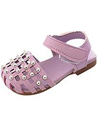 La Vogue Zapatos de Bebé PU Estrella Antideslizante para Primeros Pasos Gris Talla 13 8dC29GE