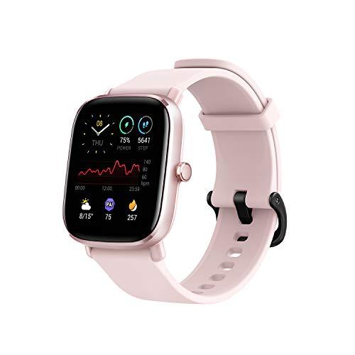 Oferta de Amazfit GTS 2 Mini - Reloj Inteligente Smartwatch Duración de Batería14 días 70 Modos Deportivos Medición del Nivel SpO2 Monitorización de Frecuencia Cardíaca, (Color Rosa)