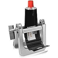 kwmobile Exprimidor de tubos metálico - Apretador de pasta de dientes crema pegamento pintura alimentos - Exprime tubo de plástico metal y aluminio