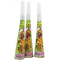 Atosa–17120–Pack 4embellecedores 20cm Scooby Doo