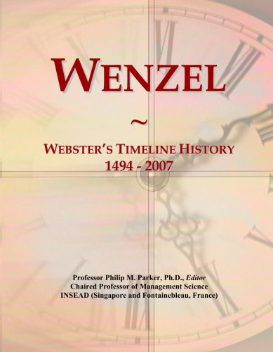 wenzel-websters-timeline-history-1494-2007