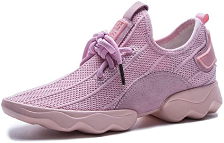 GAOLIXIA Frauen Breathable Turnschuhe Trainer Athletic Walking Gym Schuhe Leichte Lace-up Laufschuhe Mode Sportö