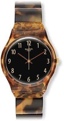 Swatch GC113A - Reloj para mujeres, correa de plástico de Swatch