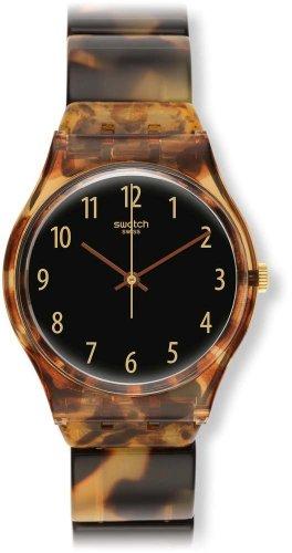 Swatch GC113A - Orologio da polso da donna, cinturino in plastica