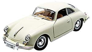Bburago - 22079W - Porsche 356 Coupe - 1961 - 1/24 Escala - Blanco